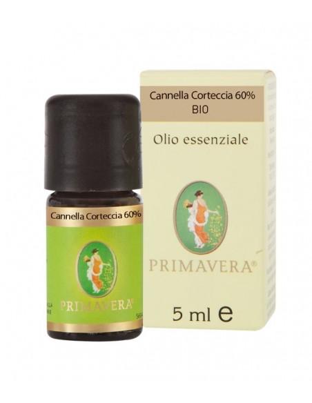Olio Essenziale di Cannella corteccia 60%, BIO - 5 ml