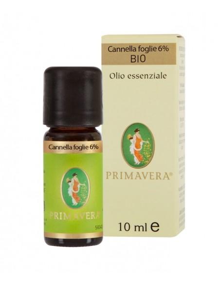 Olio Essenziale di Cannella foglie 6%, BIO - 10 ml