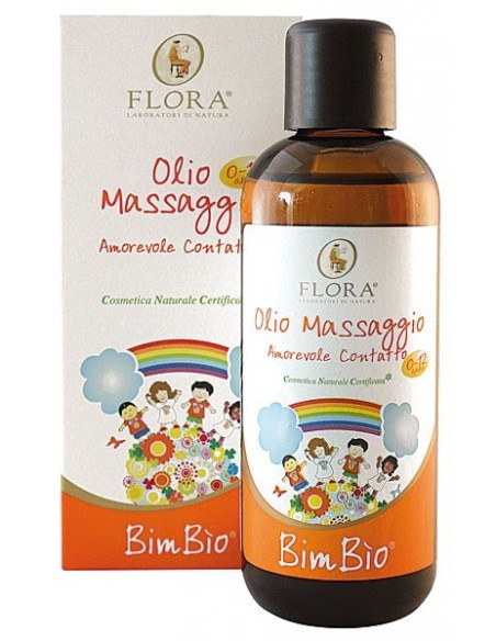 Olio da massaggio bimbio, 100 ml bio-bdih