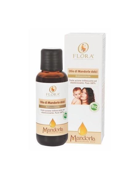 Olio di Mandorle dolci BIO 50 ml - olio alimentare/cosmetico