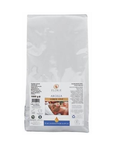 Argilla verde fine - 1 kg