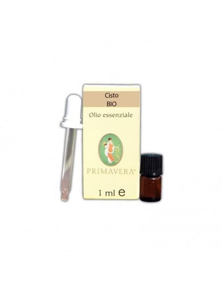 olio essenziale di cisto bio