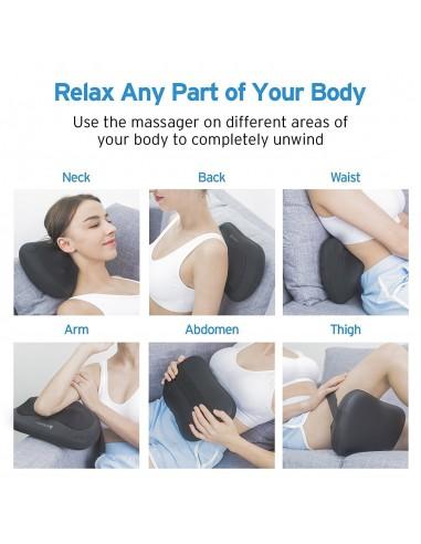 etekcity massaggiatore cuscino cervicale shiatsu  Etekcity - Cuscino Shiatsu Massaggiatore Cervicale, Massaggio